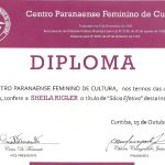 certificado centro paranaense feminino de cultura